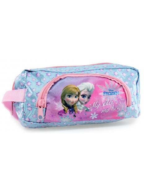 Dívčí kosmetická taštička Ledové království - Frozen - modrá
