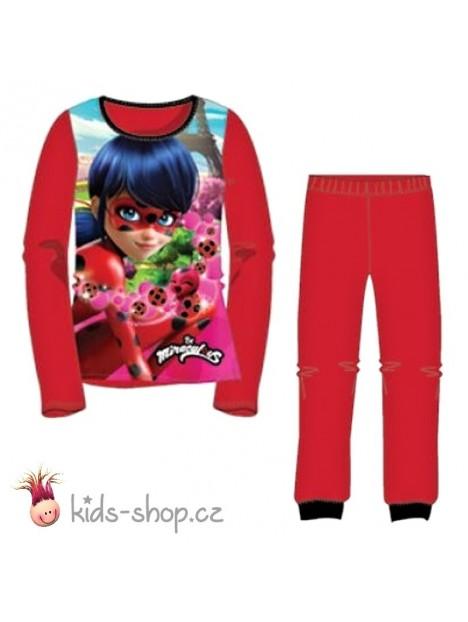 1706c2263c90 Dívčí pyžamo Kouzelná beruška (Ladybug) - červené