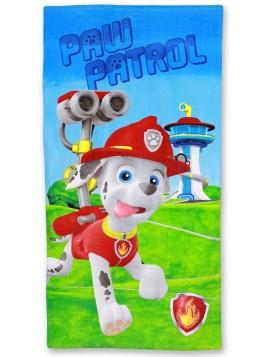 Dětská bavlněná osuška Tlapková patrola