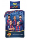 Bavlněné ložní povlečení FC Barcelona - foto hráčů I.