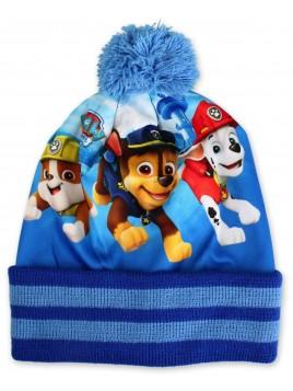 Chlapčenská čiapka a prstové rukavice Labková patrola - Paw patrol
