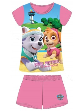 Dívčí pyžamo Tlapková patrola (Paw-Skye) - sv. růžové
