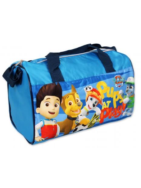 Športová taška Tlapková patrola (Paw Patrol) - sv. modrá