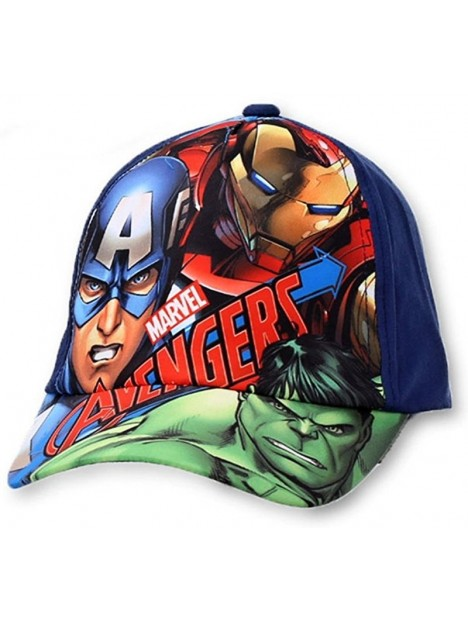 d4134b8ad Chlapčenská šiltovka Avengers - modrá navy