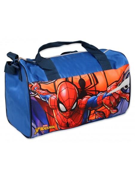 Sportovní taška Spiderman - tm. modrá