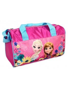 Športová taška Ľadové kráľovstvo (Frozen 2) - fialková