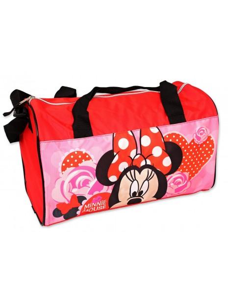 Sportovní taška Minnie Mouse (Disney) - červená