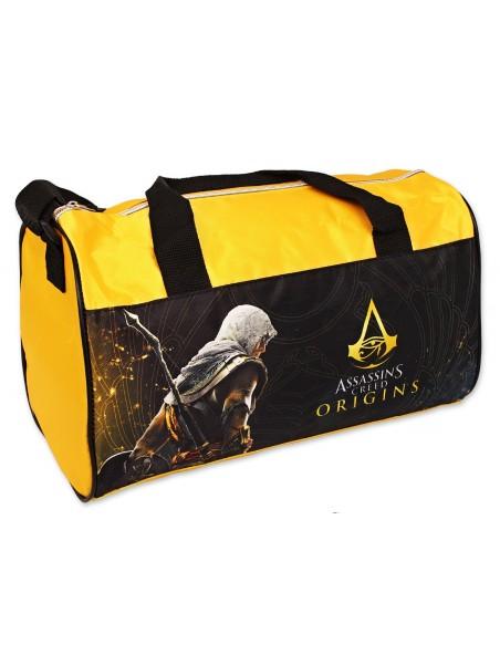 Športová taška Assassins Creed - žltá