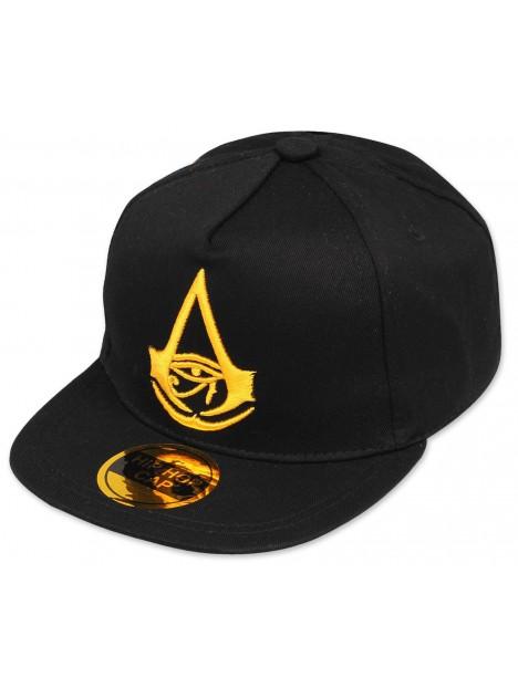c618e4999 Šiltovka snapback Hip Hop Assassins Creed Origins - šedo / čierna
