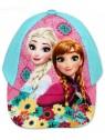 Dívčí kšiltovka Ledové království (Frozen) - tyrkysová