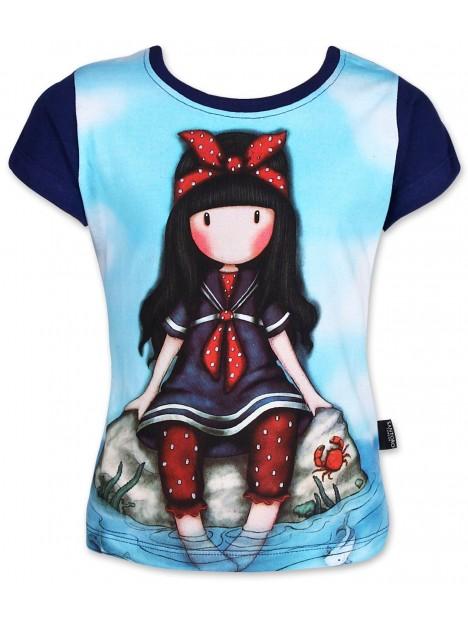 6ecba31bf Dievčenské tričko Gorjuss Santoro London s krátkym rukávom - tmavomodré