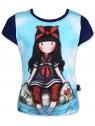 Dievčenské tričko Gorjuss Santoro London s krátkym rukávom - tmavomodré