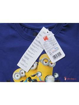 Chlapecké tričko s dlouhým rukávem Minions