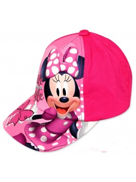 Dievčenská šiltovka Minnie Mouse (Disney) - ružová